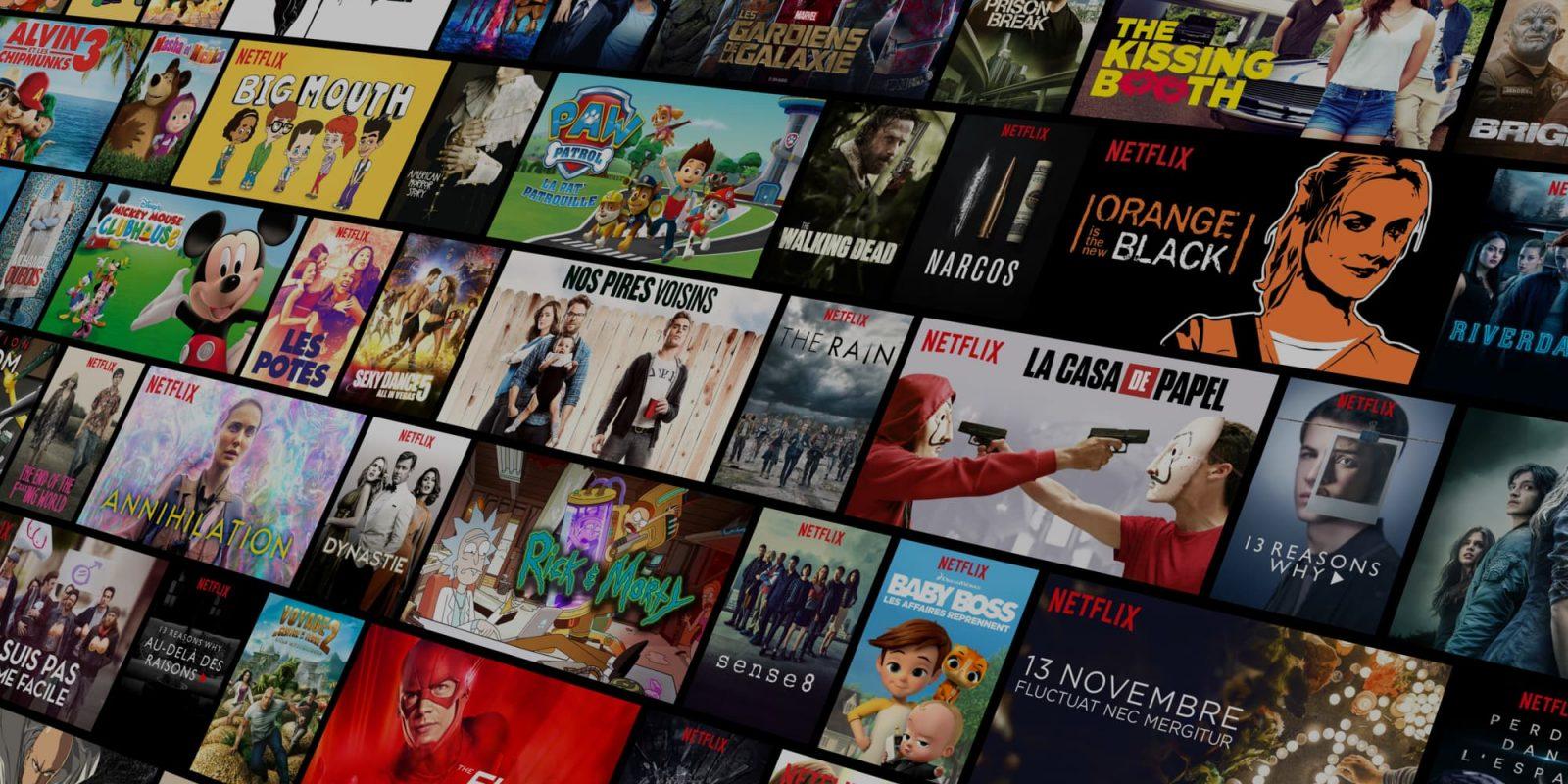 Les séries les plus populaires sur Netflix